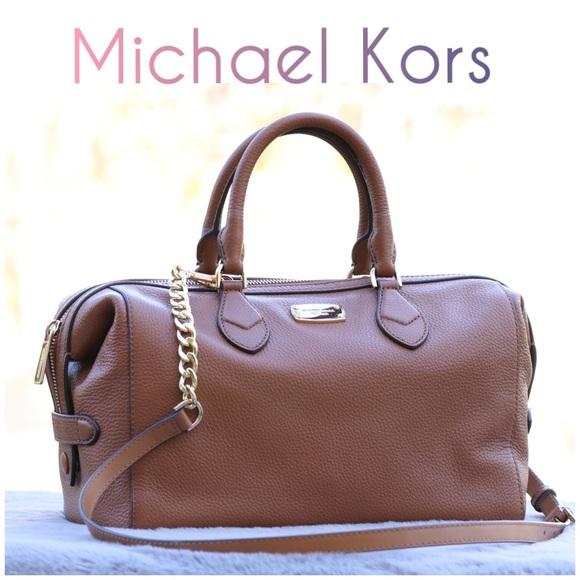 Michael Kors Handbags - Michael Kors Grayson Large Converstible Satchel